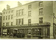Henry Thompson, Furnishing and General Ironmonger, Market Square, Penrith c1900